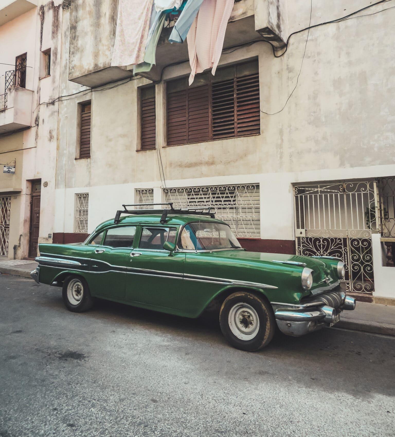 Kubas schillernde Oldtimer